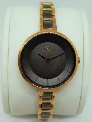 Armbanduhr Obaku Stahl